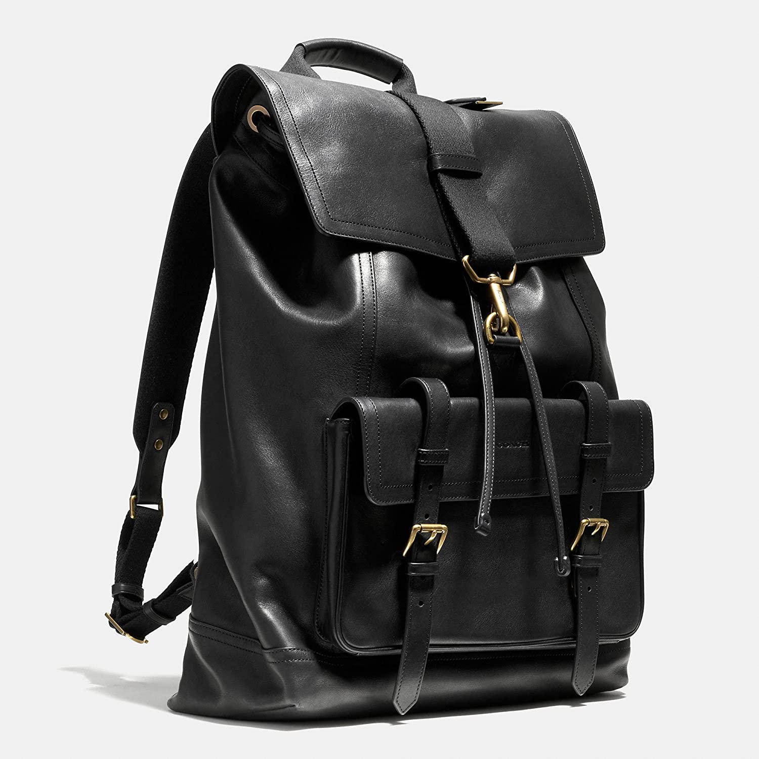 a9a97f9ea1d8 Amazon | (コーチ) COACH BLEECKER backpack in leather Fawn 革の子鹿でブリーカーバックパック  (並行輸入品) AURAKEE | タウンリュック・ビジネスリュック