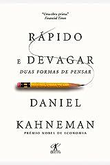 Rápido e devagar: Duas formas de pensar eBook Kindle