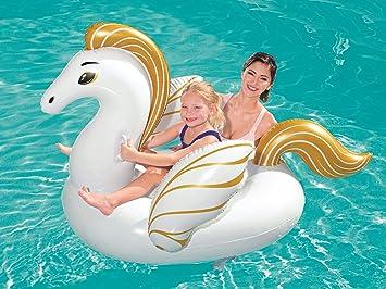 takestop Pegasus gigante hinchable Colchón Cuna canotto colchón ...