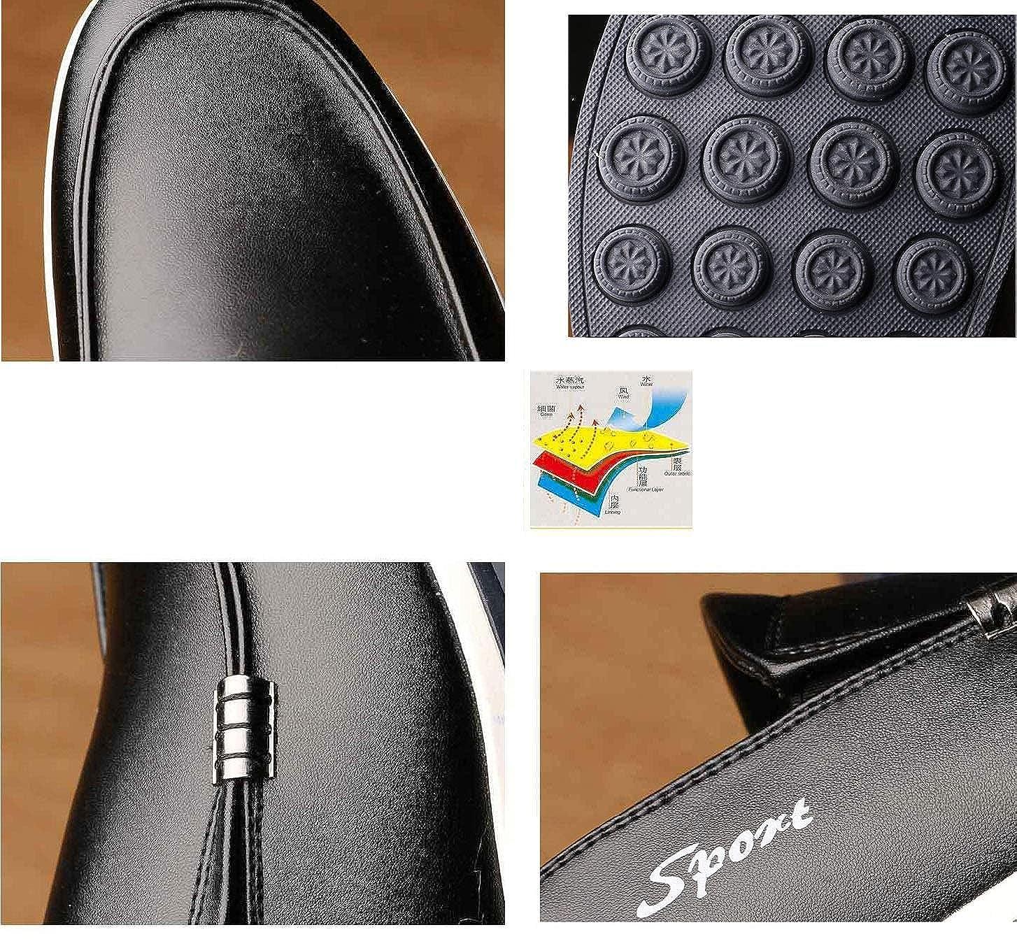 YAN Herren Lederschuhe Casual Fashion Frühjahr Flach & Herbst Loafers Schuhe Flach Frühjahr Fahr Schuhe Hochzeit Casual Party & Abend Ein 923364