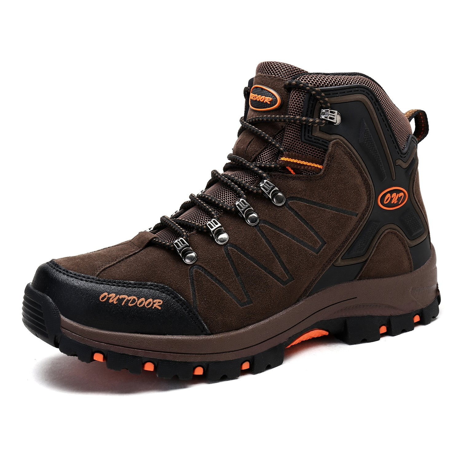 Men's Mid Trekking Hiking Boots Outdoor Lightweight Hiker