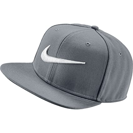 Buy Nike Swoosh 639534-014 Snapback Cap(Grey) Online at Low Prices in India  - Amazon.in 9f4b7885cca