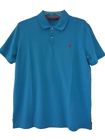 1381500a Polo Ralph Lauren Golf Pro Fit Short Sleeve Polo Shirt Spa Aqua X-Large at  Amazon Men's Clothing store: