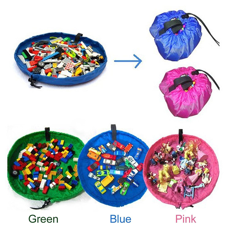 【 jouet Sac de rangement 】, portable enfants Toys Organiseur de stockage Sac à cordon (Ramdon Couleur) OPUSS