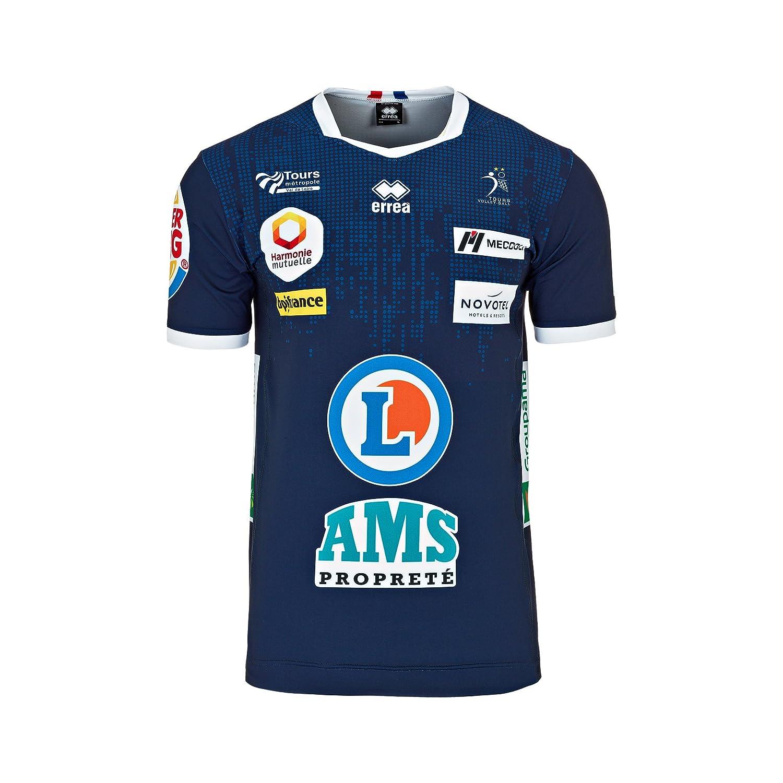 Errea Maillot exté rieur Tours Volley 2017/2018