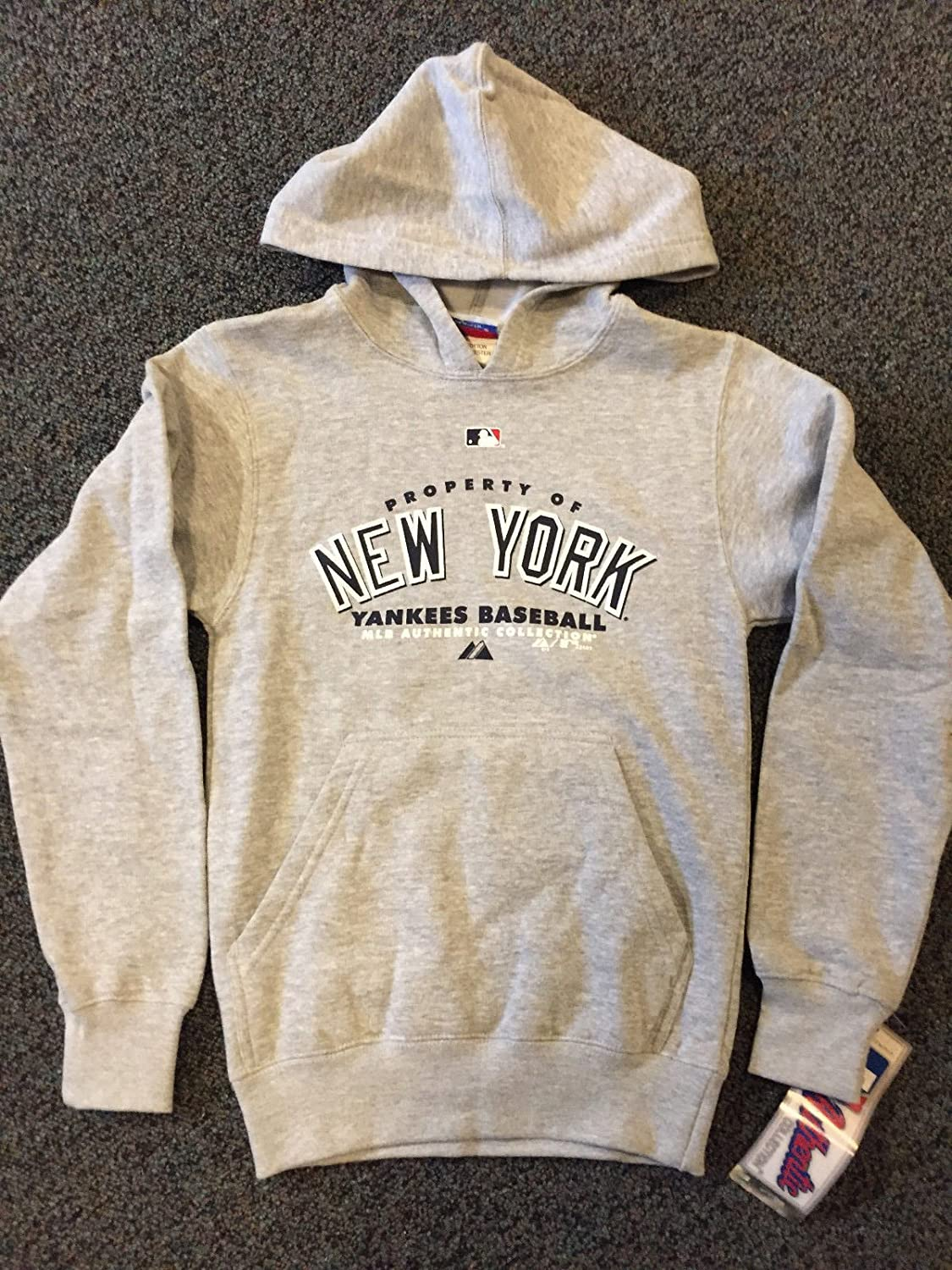 best service 3b4a6 81967 Property of New York Yankees Baseball Majestic Youth ...