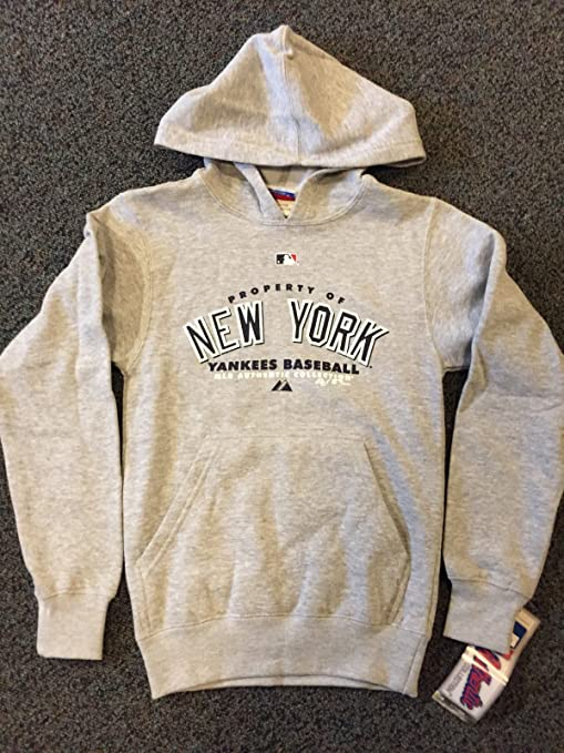 best service 64b6d 2ac2d Property of New York Yankees Baseball Majestic Youth ...