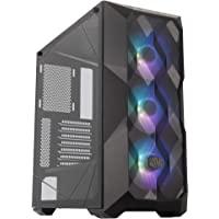 Cooler Master MasterBox TD500 Mesh Addressable RGB ARGB Polygonal Mesh Front Panel ATX E-ATX SSI CEB Mid Tower Case…