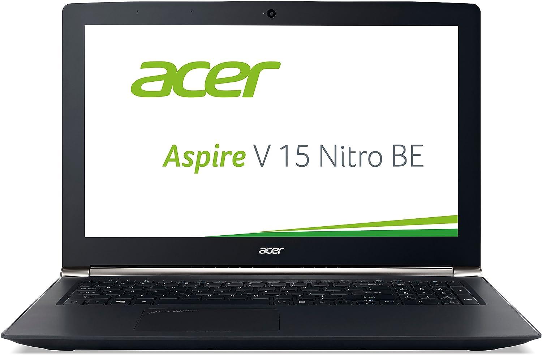 Acer Aspire V 15Nitro Black Edition (VN7–592747p) 39,6cm (15,6pulgadas Ultra HD IPS) Ordenador Portátil (Intel Core i7–6700hq, 16GB de RAM, disco duro de 2TB, 256GB SSD, nVidia GeForce GTX