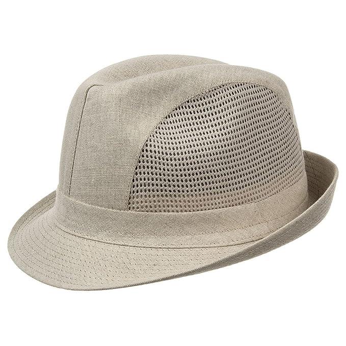 9d922bd8f4ad7 Sombreroshop Sombrero de Lino Anton Sombreros Tela Hombre (62 cm - Beige)