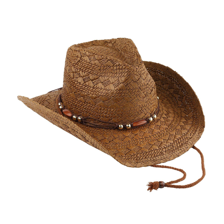 AccessHeadwear Old Stone Jess Women's Cowboy Drifter Style, Brown by AccessHeadwear