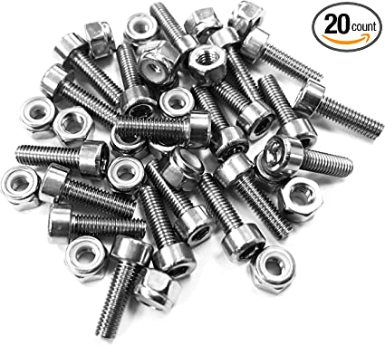 RaceFace Chester Pedal Pin Kit 20 Pins Black