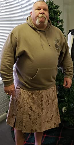 American Highlander USMC Marpat Desert Digital Kilt