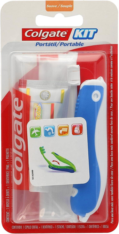 COLGATE kit viaje cepillo y crema dental