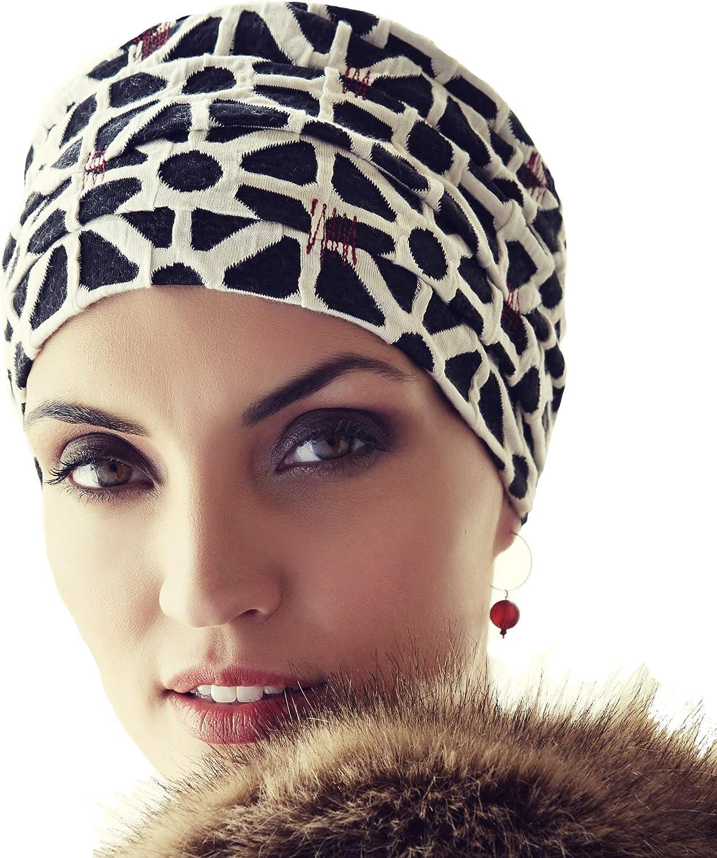 Boho Spirit Headwear Hermoso Gorro de algodón Ruby Skye Extra ...