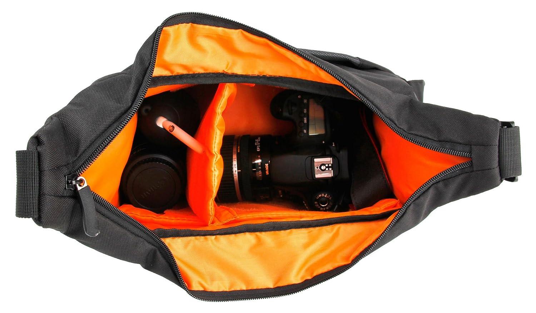 Resistente Y Duradera WP1 Sport AZ525 AZ365 con Correa Ajustable DURAGADGET Bandolera Negra Y Gris para C/ámara Kodak Pixpro AZ252 AZ401 AZ651 FZ201 AZ522 AZ521 FZ51 FZ41