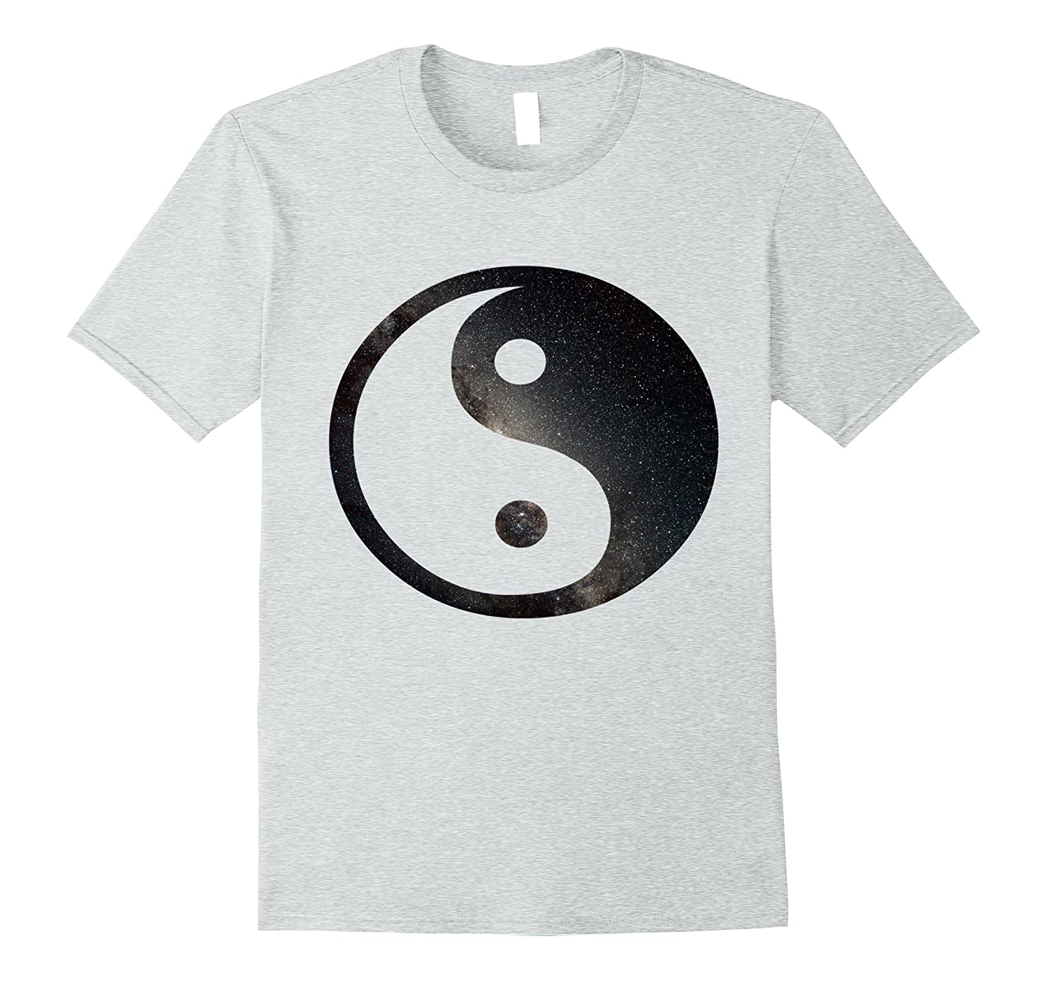 Awesome Space Yin Yang T-Shirt - Mens & Womens Sizes-FL