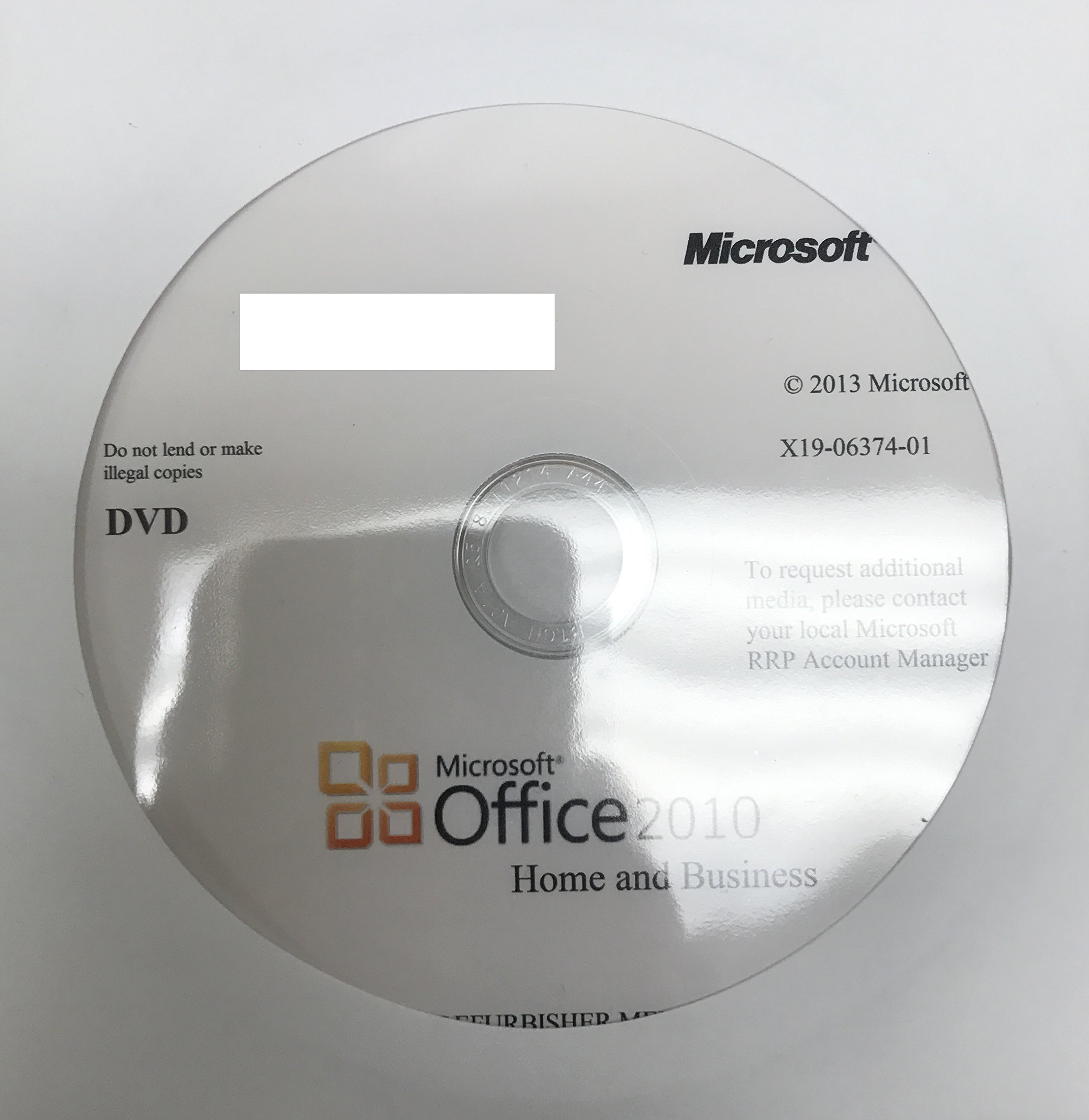 Microsoft Office 2010 Home & Business (Disc Version): MICROSOFT ...
