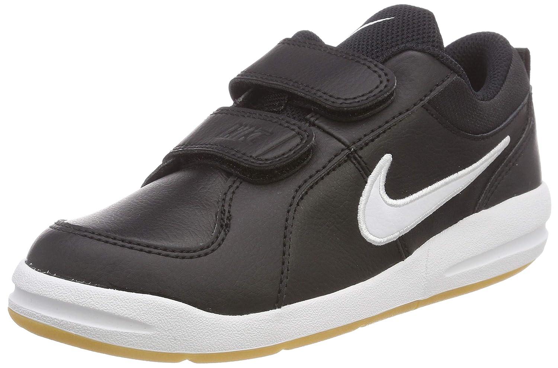 Nike Pico 4 (PSV) –  Chaussures de tennis, enfant Chaussures de Tennis garçon Multicolore (Black/White-Gum Light Brown 023) 30 EU 454500