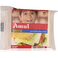 Amul Cheese - Processed Slices, 200g Pouch