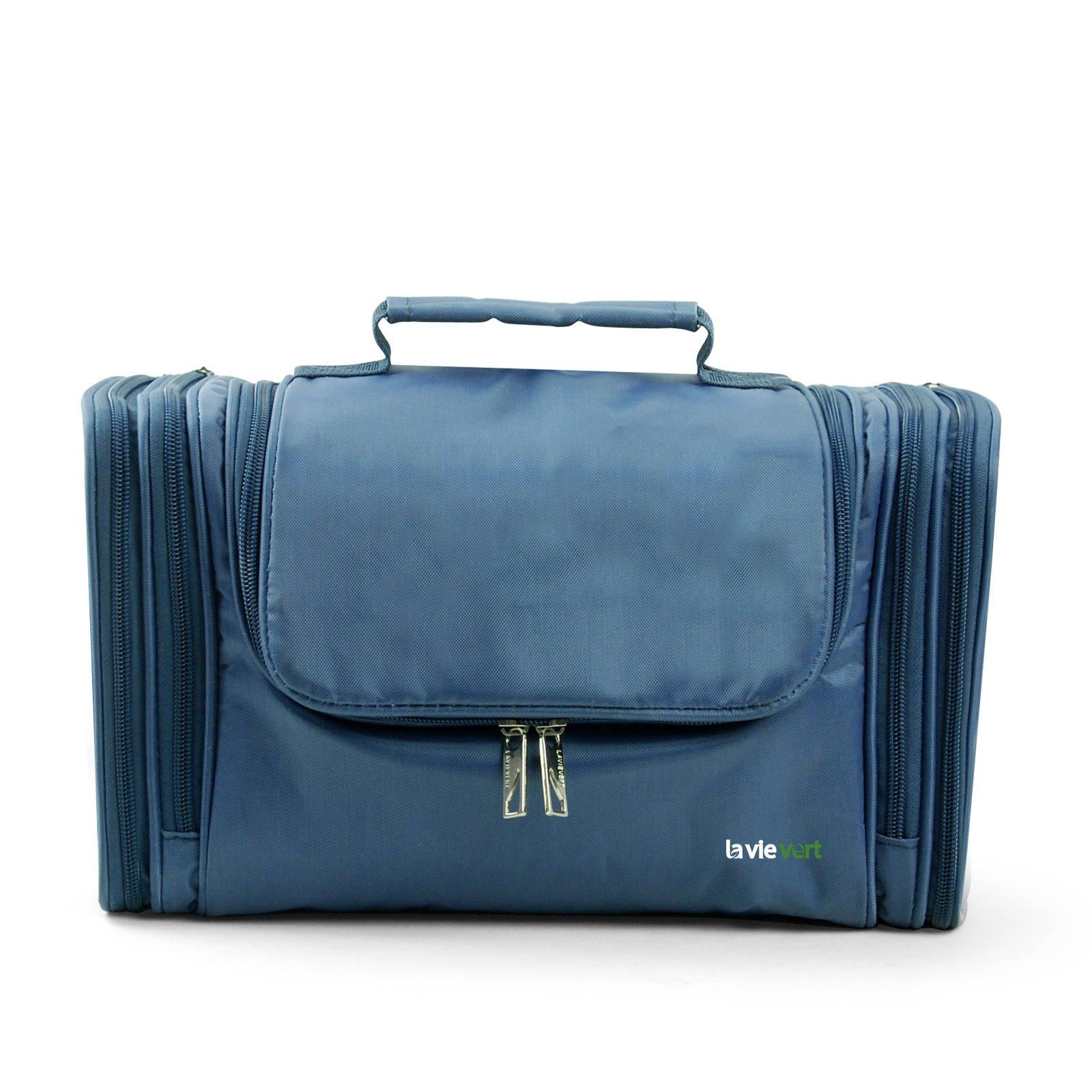 Amazon.com : Lavievert Toiletry Bag/Makeup Organizer/Cosmetic Bag ...
