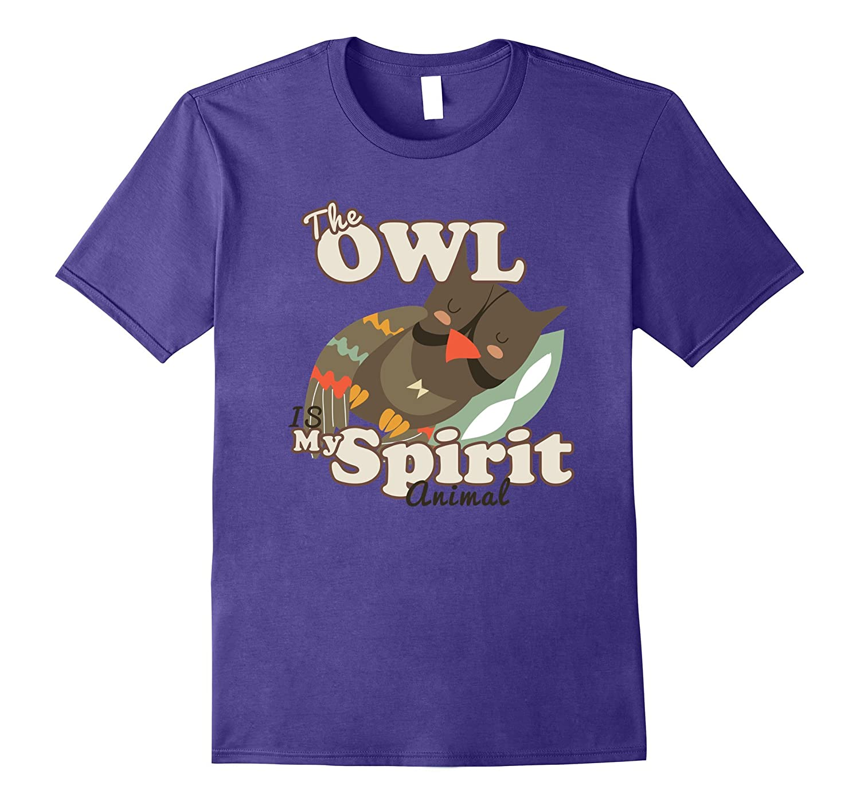 Owl Hoot Spirit Animal Totem Archetype Nightowl Pillow Sleep-Art
