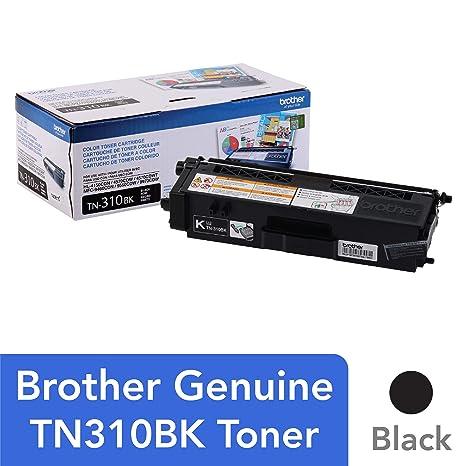Amazon.com: Brother TN310BK Black Toner Cartridge for ...