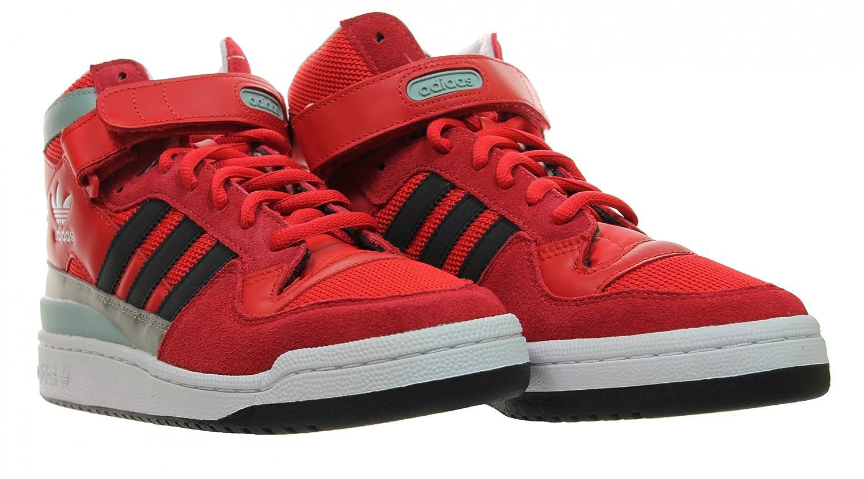 adidas Forum Mid RS Winterized - Zapatillas para Hombre, Color Rojo/Blanco/Negro, Talla 47 1/3: Amazon.es: Zapatos y complementos