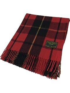 Tartan écossais 100 % laine - Couverture de qualité - Descend jusqu au  genou - 307a324e3e5