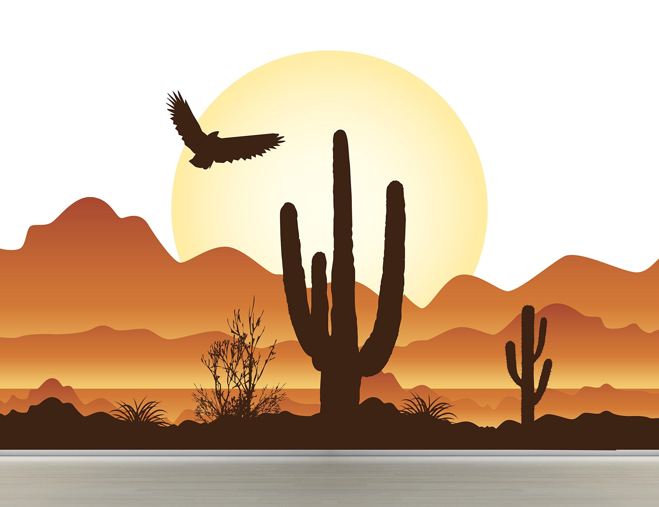 Desert Scenery Vinyl Wall Decal Art Sticker Mural Kids