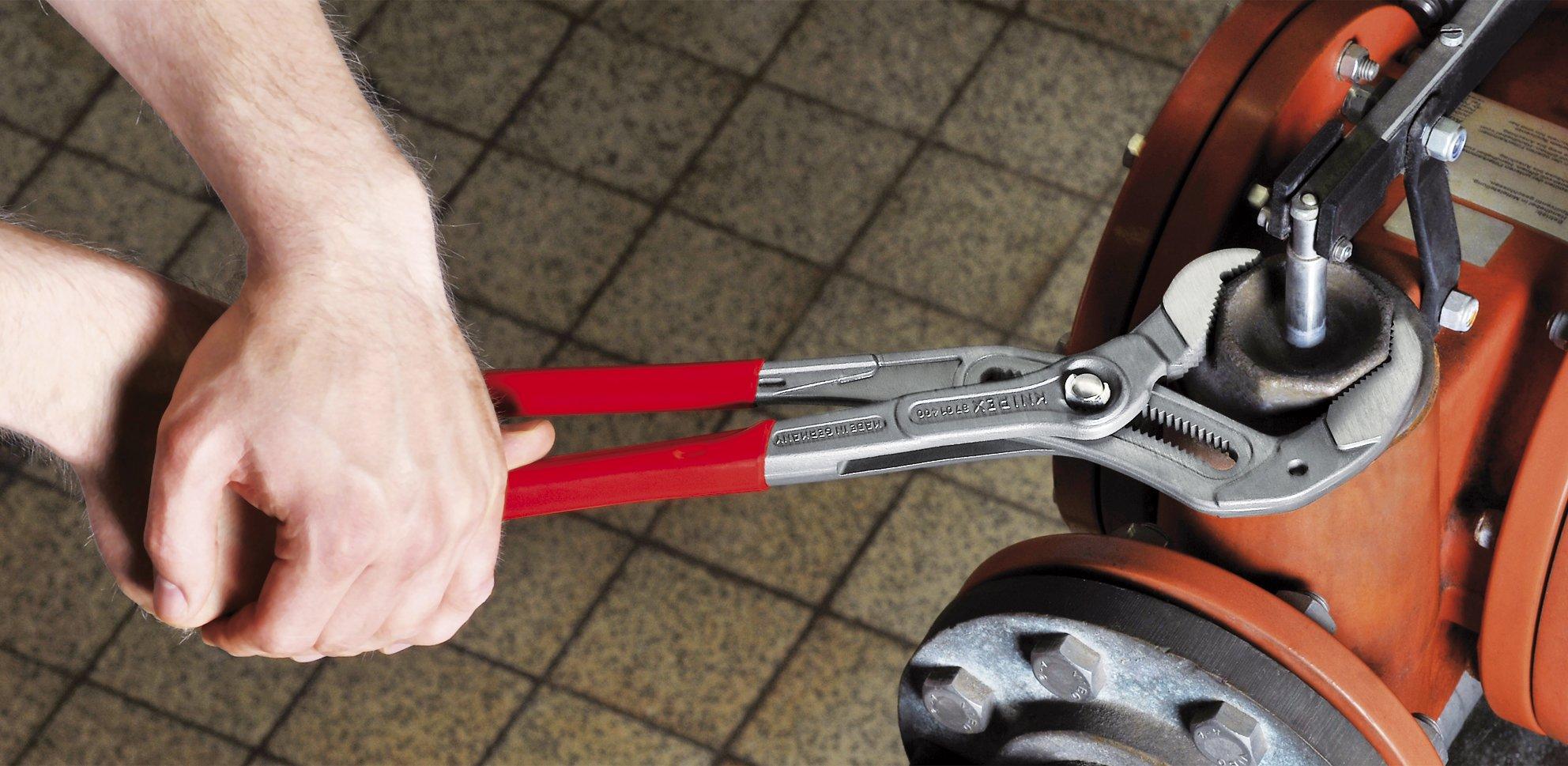 KNIPEX 87 01 400 SBA Cobra Pliers by KNIPEX Tools