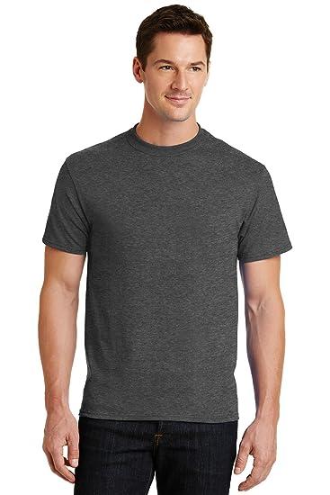f81d5b00d0a Port   Company PC55 50 50 Cotton Poly T-Shirt - Dark Heather