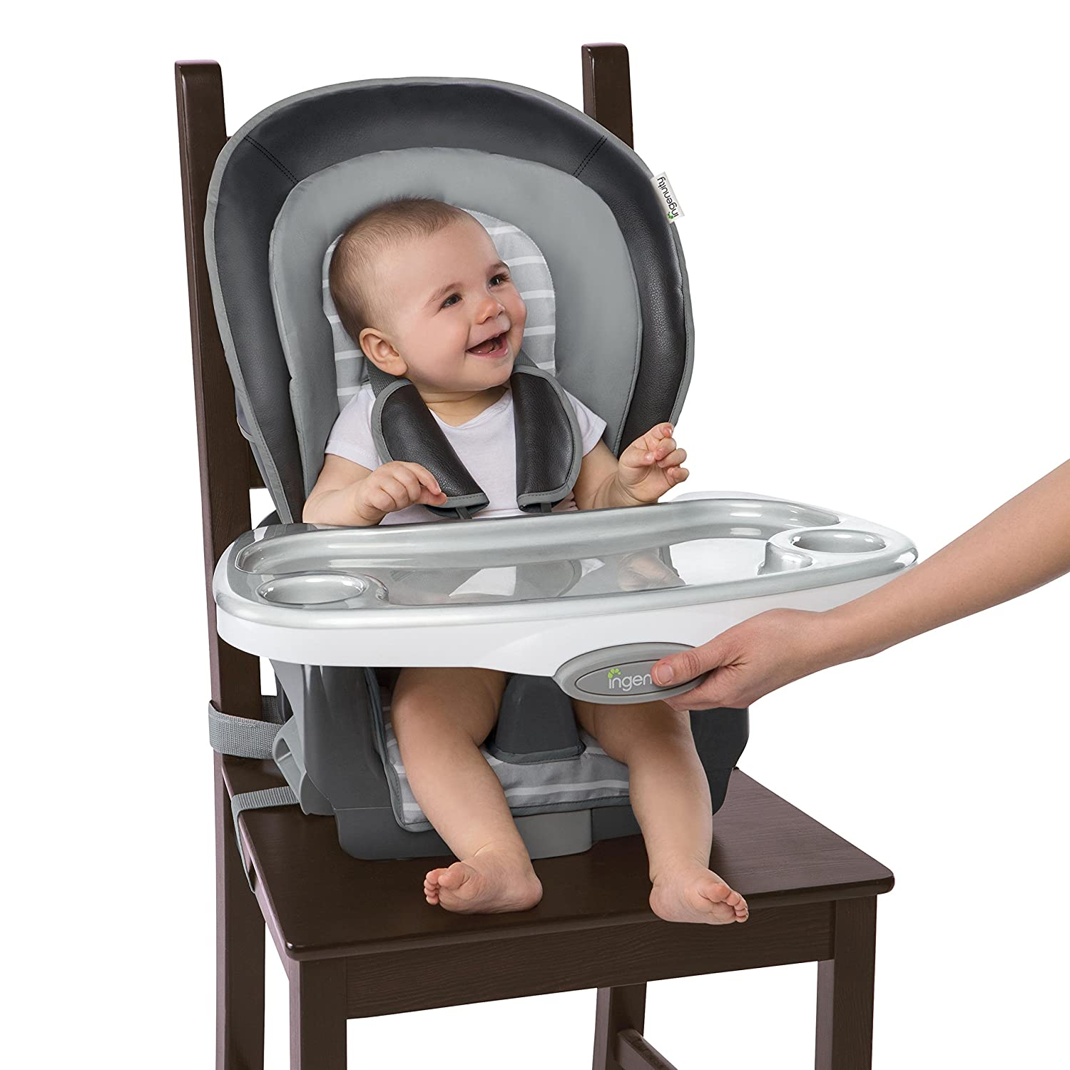 Ingenuity Boutique Collection 3-in-1 Wood High Chair, Bella Teddy Kids II - (Carson CA) 10932-1