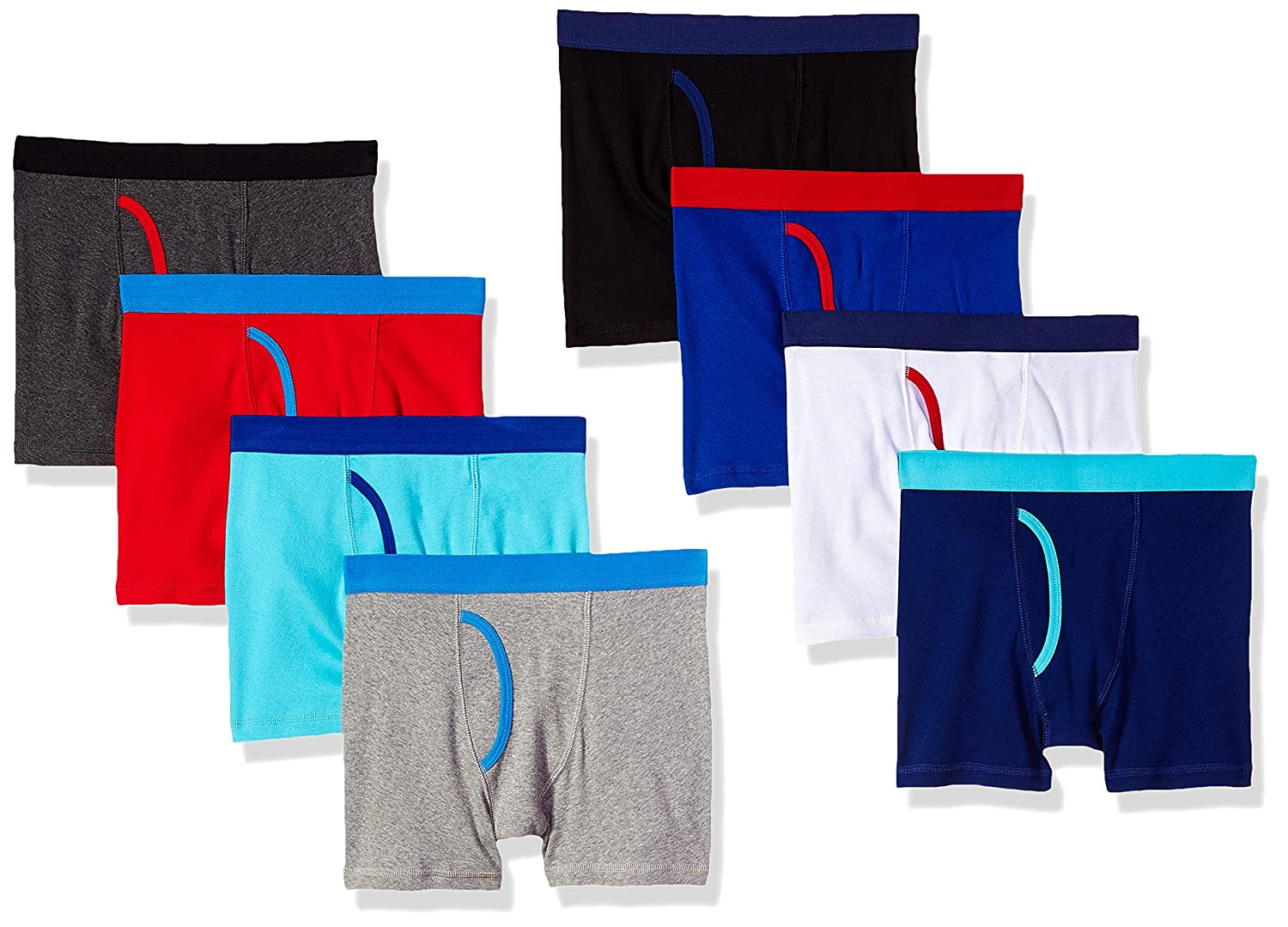 Essentials Boys 8-Pack Boxer Brief