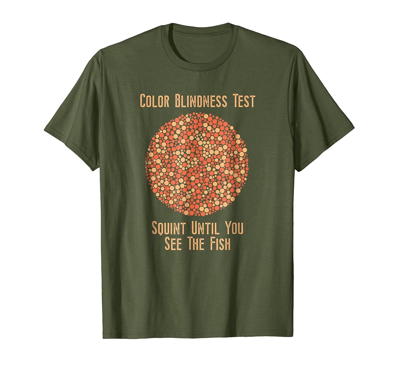 Amazon Color Blind T Shirt Funny Color Blindness Test Tshirt