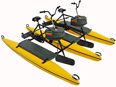 Safe and Stable Tandem Portable Water Bike (for 2 Pearsons) by Hydrobikes Exp. Picture