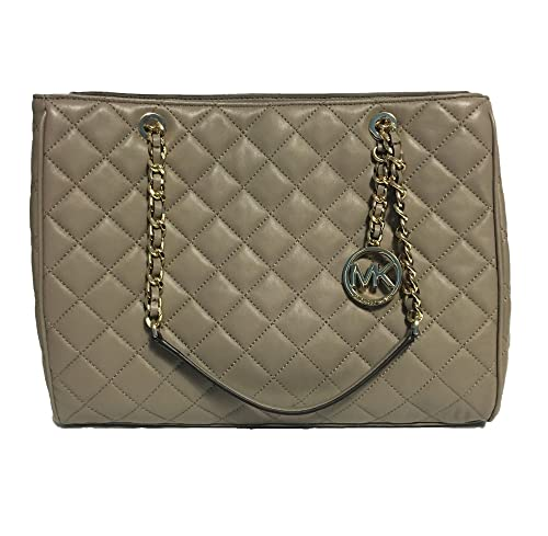 MICHAEL KORS SUSANNAH LG Quilted Leather Tote 35F6GAHT3L In
