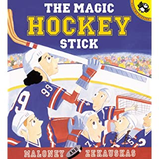 The Magic Hockey Stick (Picture Puffin Books)