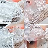 Epeius Baby-Girls Eyelet Frilly Double Lace Socks