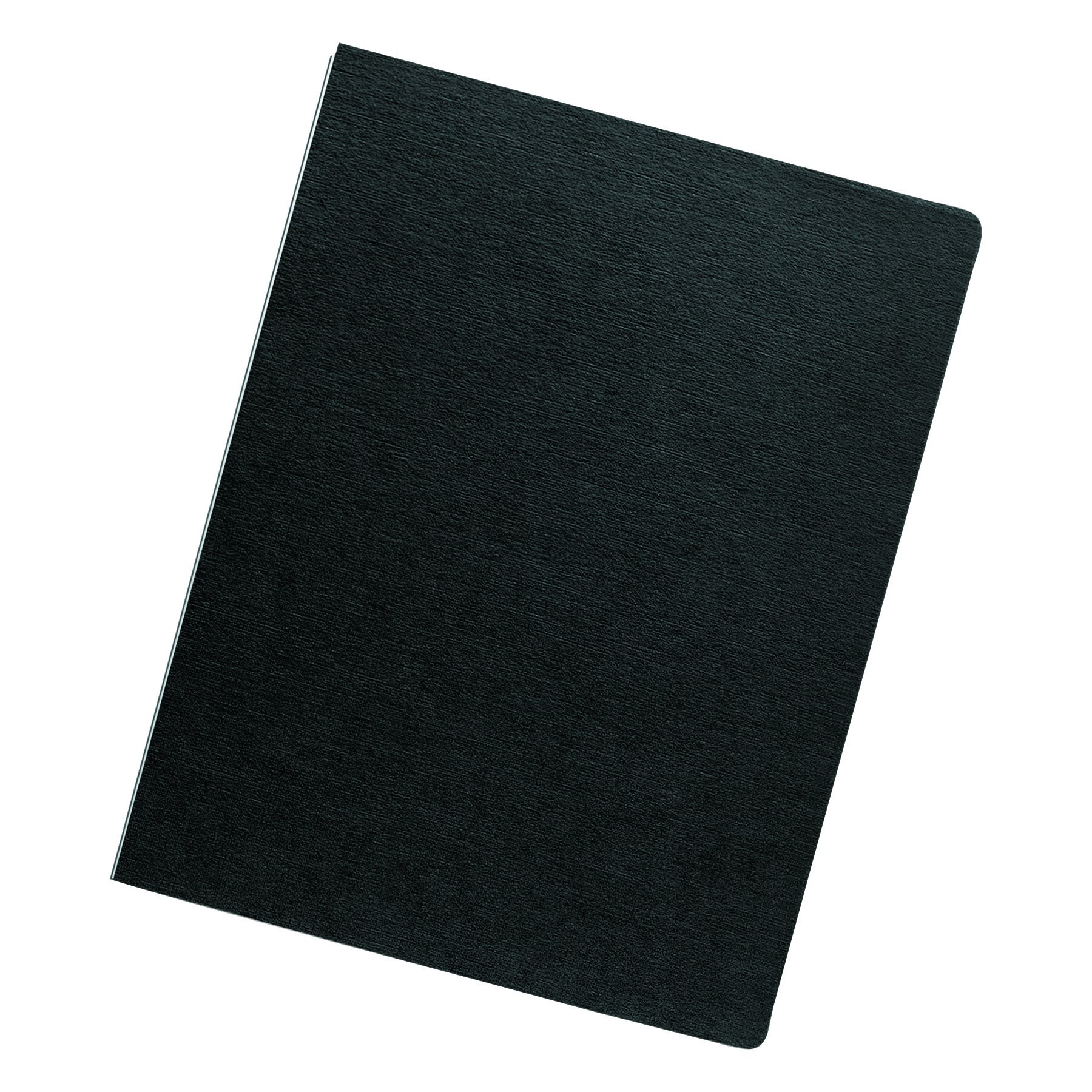 Fellowes 52115 Linen Texture Binding System Covers, 11-1/4 x 8-3/4, Black (Pack of 200) by Fellowes (Image #2)