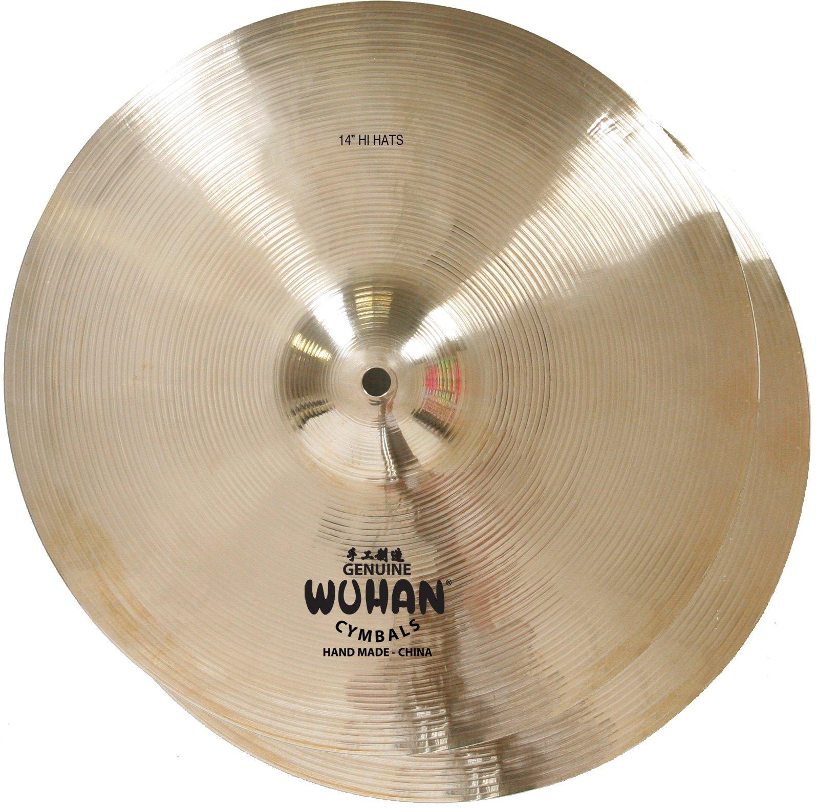 WUHAN WUHH14 Hi-Hats 14-Inch (Pr) by WUHAN