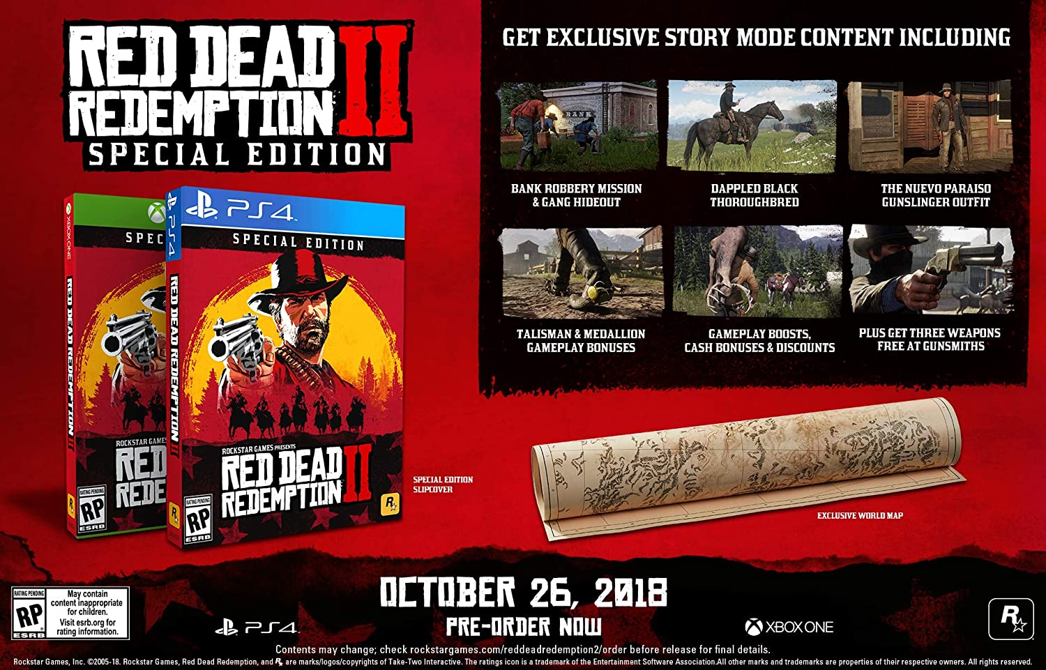 Red Dead Redemption 2 - Special Edition for Xbox One USA: Amazon.es: Take 2 Interactive: Cine y Series TV
