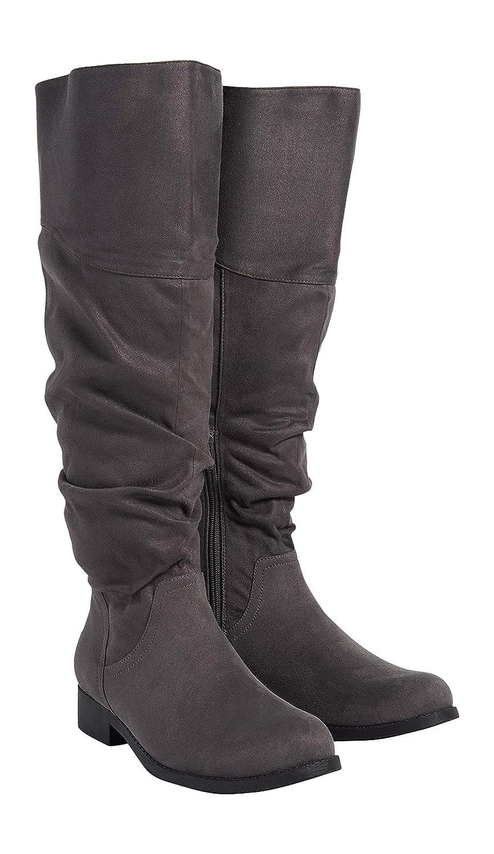 844b09d14cf maurices Women s Knee High Boot - Greta Scrunch Tall Regular and Wide Calf  Boot