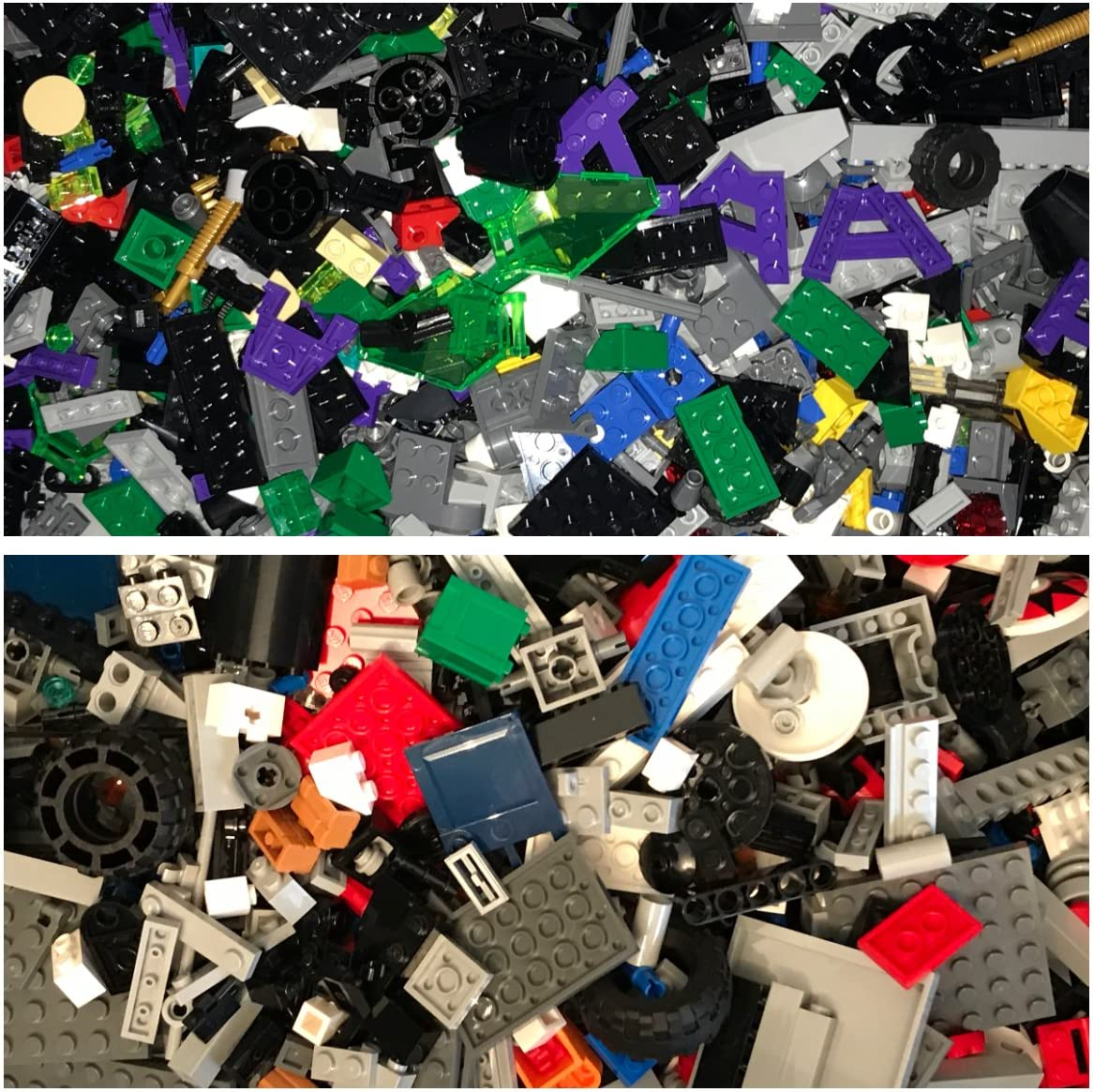 Lego by the Half Pound Ships Free Assorted Pieces