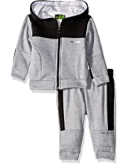 RBX Mens Fleece Zip Hoodie and Pant Set Sweatsuit