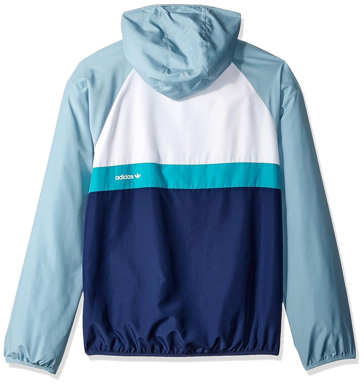 bbcdef8ffbf3 Amazon.com  adidas Originals Men s Skateboarding Blackbird Wind Jacket   Clothing