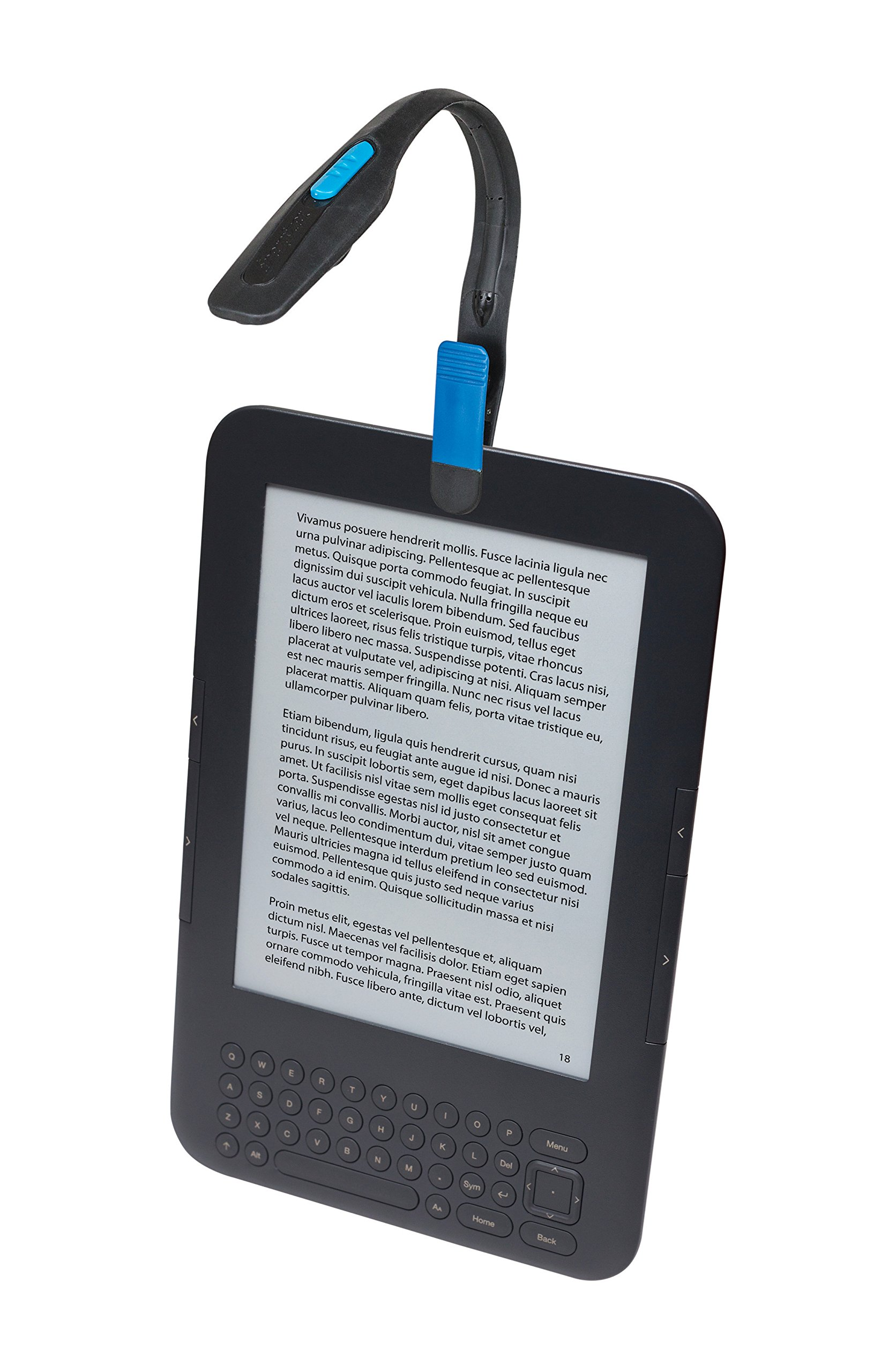 energizerlightweight led clip book light for reading includes 2