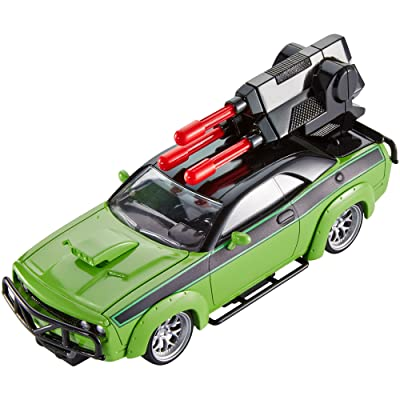 Mattel Fast & Furious Customizers Dodge Challenger & Vehicle Kit: Toys & Games