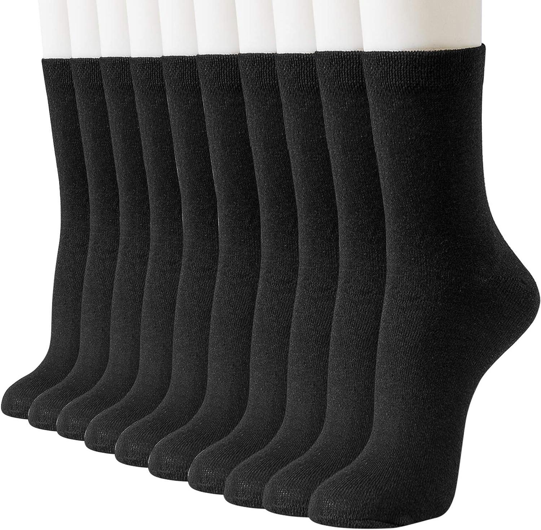 1 Pair Women Pure Cotton Thin Socks Soft Solid Casual Socks Boot Socks