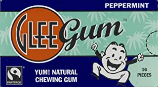 product image for Glee Gum All Natural Chewing Gum Peppermint - 16 Pieces